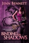 BINDING THE SHADOWS cover
